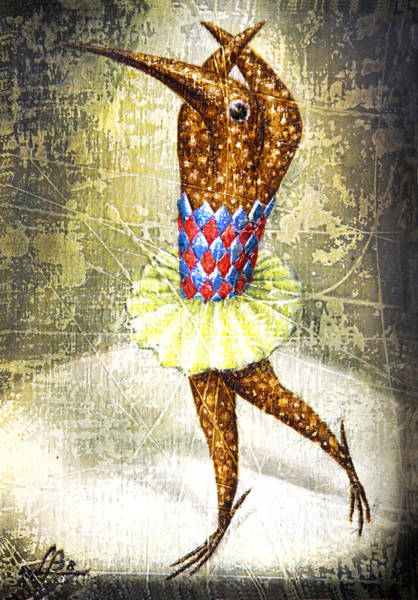Parallel World Painting - Dancer 3 by Lolita Bronzini