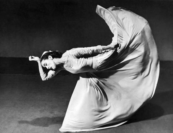 Dancer Martha Graham Art Print