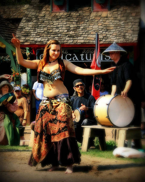 Belly Dancers Photograph - Dancer by Perry Webster