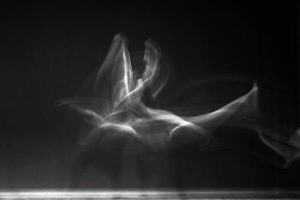 Wall Art - Photograph - Dancers Abstract by Catherine Lau