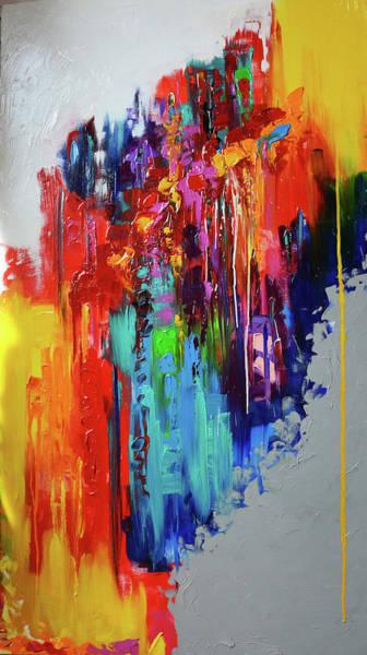 Wall Art - Painting - Dancers On The Run by Mac Worthington