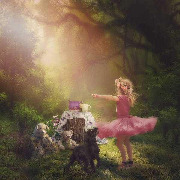 Dancing Bears Photograph - Dances In The Summer by Cindy Grundsten