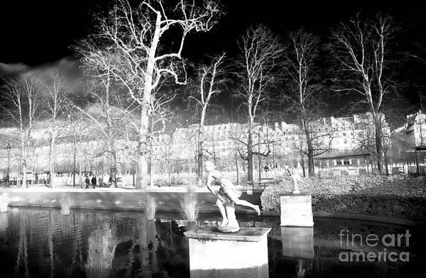 Jardin Des Tuileries Photograph - Dancing At Tuileries Garden Paris by John Rizzuto