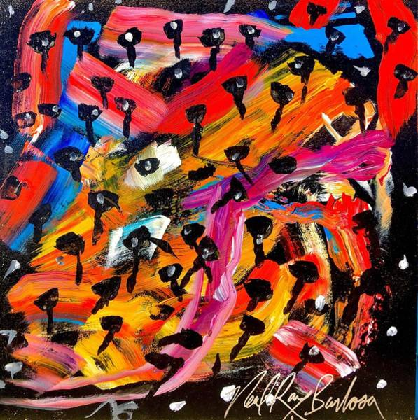 Painting - Dancing Car Keys by Neal Barbosa