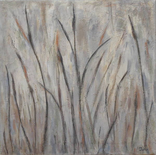 Painting - Dancing Cattails 2 by Trish Toro