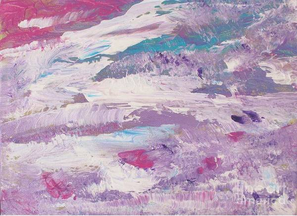 Painting - Dancing Clouds by Sarahleah Hankes