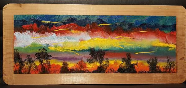 Painting - Dancing Colors     102 by Cheryl Nancy Ann Gordon