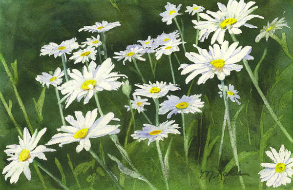 Painting - Dancing Daisies by Marsha Karle
