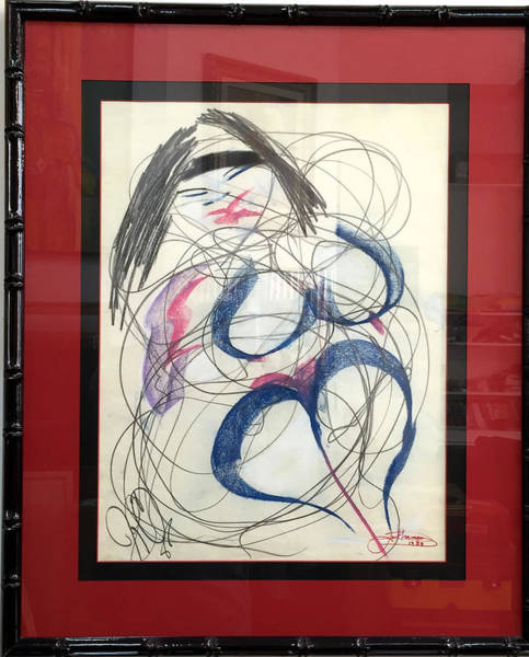 Painting - Dancing Emme by Jack Diamond
