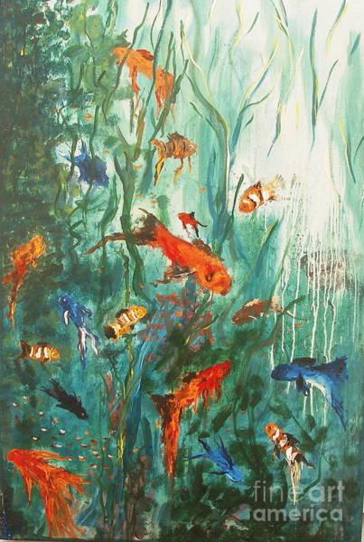 Dancing Fish Art Print