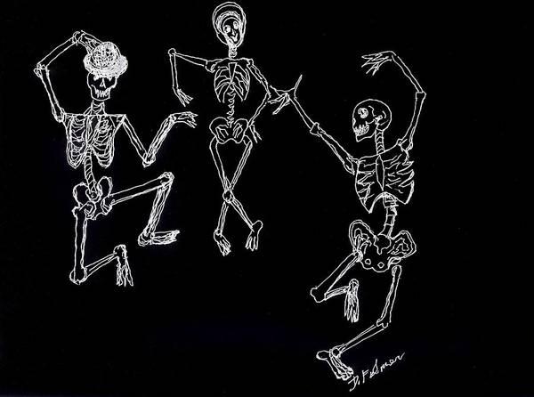 Dancing In The Dark Art Print