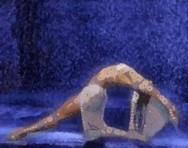 Digital Art - Dancing In The Rain by Catherine Lott
