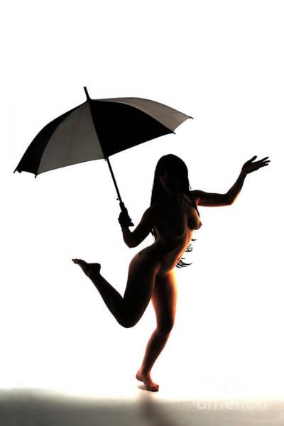 Photograph - Dancing In The Rain by Robert WK Clark