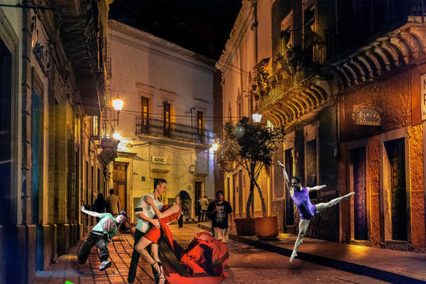 Photograph - Dancing In The Street by Barry Weiss