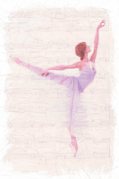 Wall Art - Painting - Dancing Melody by Steve K