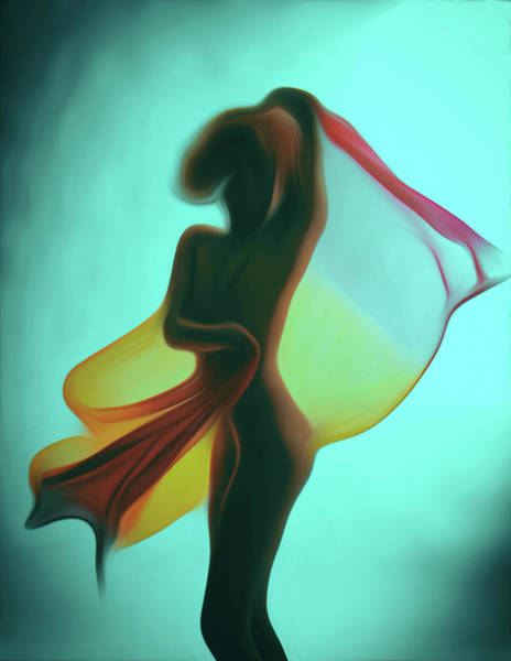 Wall Art - Painting - Dancing Naked by Naman Imagery
