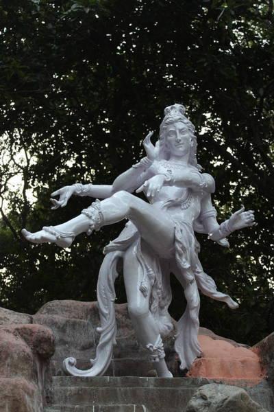 Wall Art - Photograph - Dancing Nataraj, Rishikesh by Jennifer Mazzucco