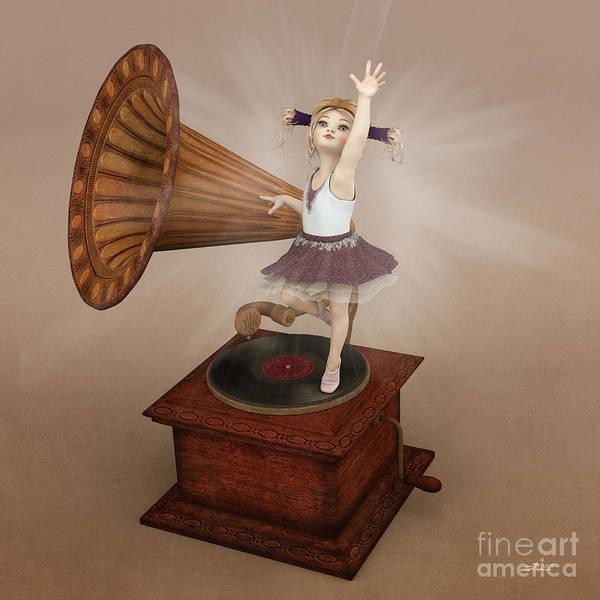 Digital Art - Dancing Queen by Jutta Maria Pusl