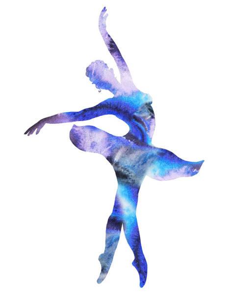 Painting - Dancing Water Graceful Move by Irina Sztukowski