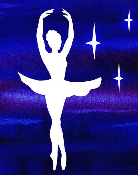 Wall Art - Painting - Dancing With The Stars by Irina Sztukowski
