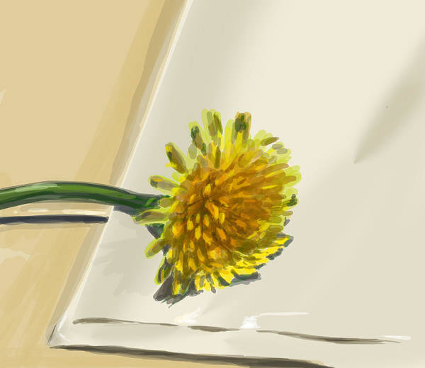 Quick Digital Art - Dandelion by Jamie Lindenmeier