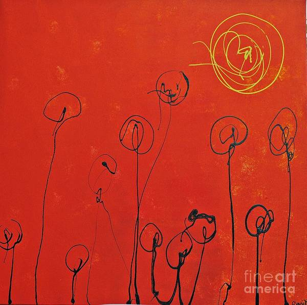 Painting - Dandelions by Chani Demuijlder
