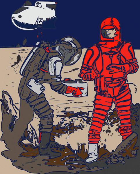 Digital Art - Danger In Deep Space by Joy McKenzie
