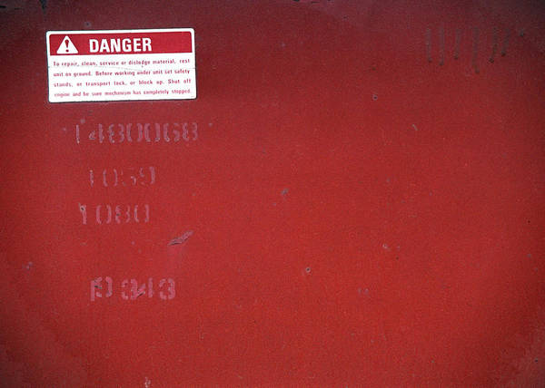 Photograph - Danger by Kenneth Campbell