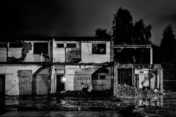 Photograph - Danger. Live. by Neil Alexander