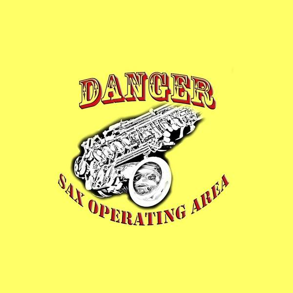 Wall Art - Photograph - Danger Sax Operating Area by M K Miller