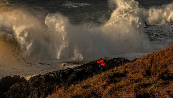 Photograph - Dangerous Wave by Bill Posner