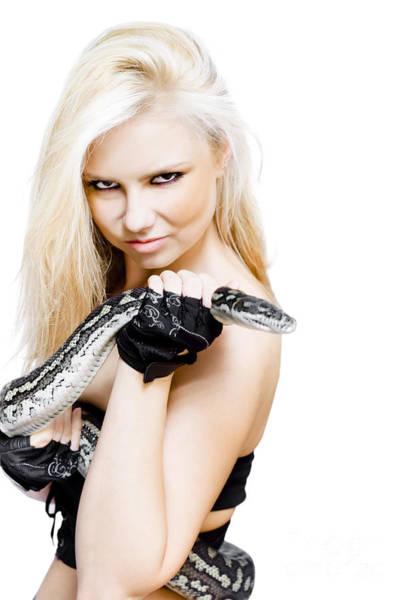 Serpent Photograph - Dangerous Woman by Jorgo Photography - Wall Art Gallery
