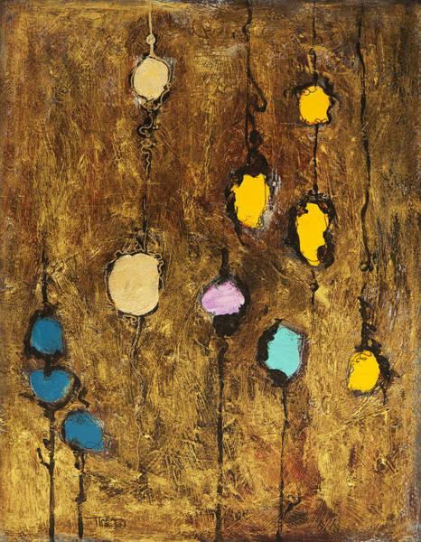 Tara Painting - Dangling Blossoms by Tara Thelen