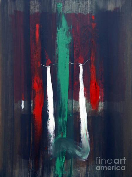 Painting - Dangling Conversation by James Lavott