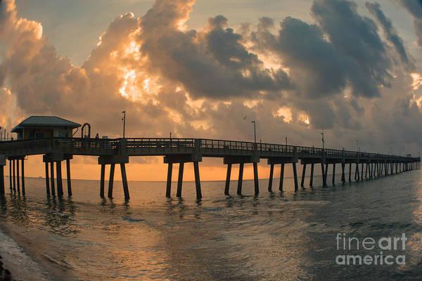 Photograph - Dania Beach Fishing Pier by Gary Keesler