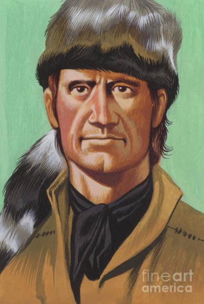 Wall Art - Painting - Daniel Boone by Ron Embleton