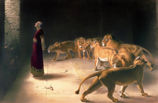Worship Wall Art - Painting - Daniel's Answer To The King by Mountain Dreams
