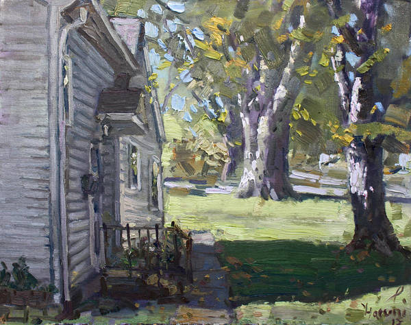 Minnesota Wall Art - Painting - Daniel's House In Bloomington Mn by Ylli Haruni