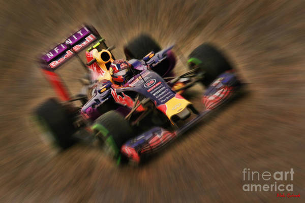 Photograph - Daniil Kvyat 2015 Redbull by Blake Richards