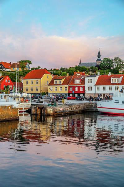 Wall Art - Photograph - Danish Fishing Town Of Gudhjem by W Chris Fooshee