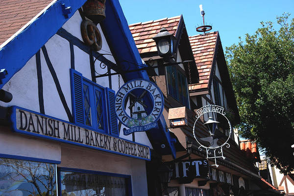Photograph - Danish Mill Bakery In Solvang California by Susanne Van Hulst