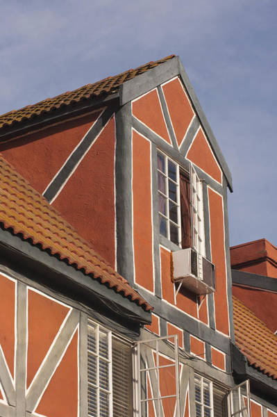 Solvang Photograph - Danish Style Building by Art Block Collections