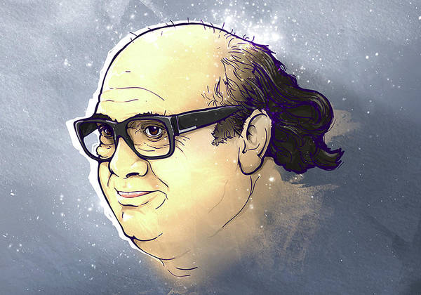 Danny Devito Wall Art - Digital Art - Danny Devito by Putri Davenport
