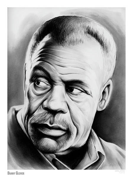 Actor Drawing - Danny Glover by Greg Joens