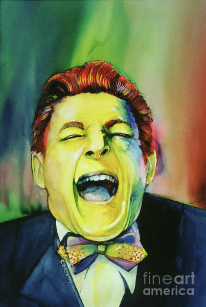 Painting - Danny Kaye - Laughter by Rob Corsetti