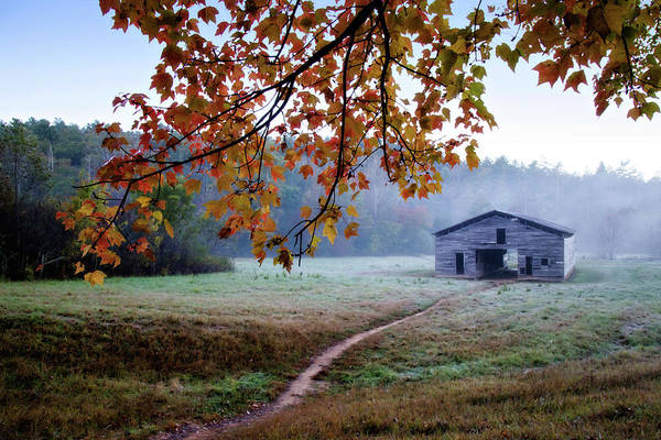 Wall Art - Photograph - Dan's Barn by Lana Trussell
