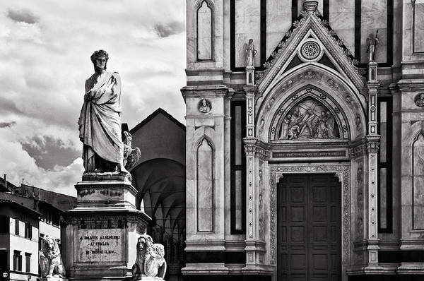 Croce Photograph - Dante At The Church by Mick Burkey