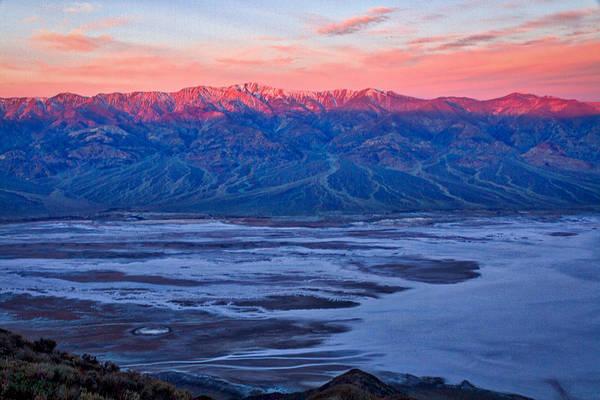Photograph - Dante's View Dawn #2 - Death Valley by Stuart Litoff