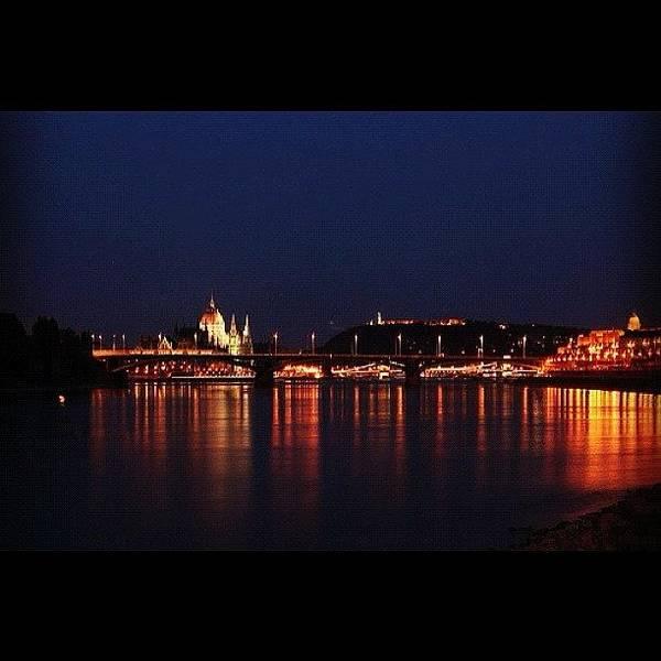Wall Art - Photograph - Danube #budapest #hungary #travel by Zsolt Bugarszki