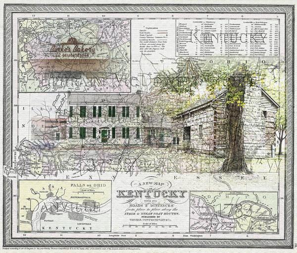 Photograph - Danville Kentucky 1783 by Sharon Popek